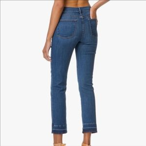 Frame Le High Straight Style Ankle Cropped Jeans